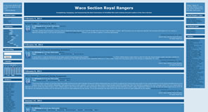 Waco Section Royal Rangers Blog